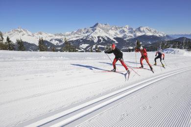 Langlaufen im Winterurlaub in Radstadt, Salzburger Land